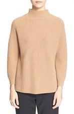 Mock Neck Raglan Sweater