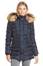 Feather Fill Parka Coat